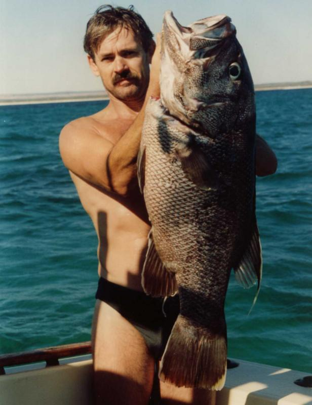 Dhufish - West Australian Dhufish caught offshore from Jurien Bay in Western Australia  -SportfishWorld &copy Copyright 2003 All rights reserved