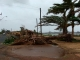 Cyclone Clare:   Cyclones: Cyclone Clare passed by Port Hedland in January 2006 - photo by Shane Baker SportfishWorld &copy Bob Fisher